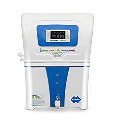 Blue Mount Elite Plus Alkaline RO + Silver Boost water purifier with LED and 12 Litres storage & 18 litres purification capacity