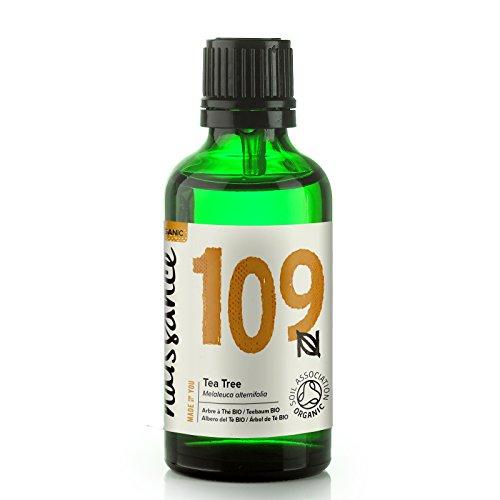 Naissance Huile Essentielle d'Arbre à Thé BIO - 50ml - 100% pure, Certifiée Biologique, vegan et sans OGM