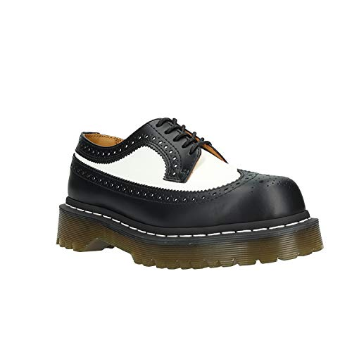 Dr. Martens Womens 3989 Brogue Bex 5-Eyelet Leather Shoes