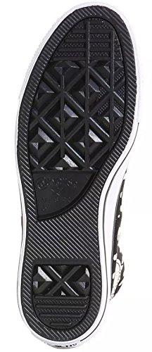 Converse, Sneaker Donna Grigio Charcoal Noir / Parchemin