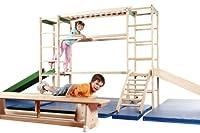 Klettergerät Erzgebirge, Indoor Sport- und Spielgerät aus Holz