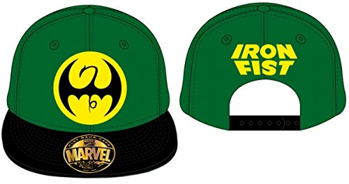 Codi - Cappellino Regolabile Marvel Comics Iron Fist