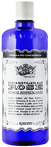 Price comparison product image Manetti & Roberts: Refreshing Tonic Italian Rosewater, NEW Concentrated Formula * 300ml * 10.14fl.oz * [ Italian Import ]