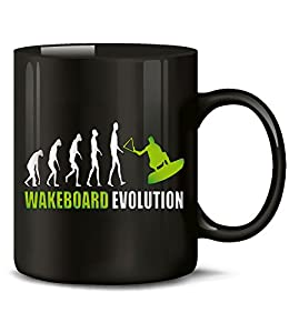 WAKEBOARD EVOLUTION 622(Schwarz-Grün)