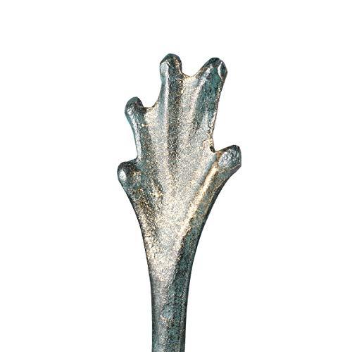 Tooarts Toallero de Papel Toallero de Animal Organizador de Hierro Antiguo Soporte de la Toalla de Papel