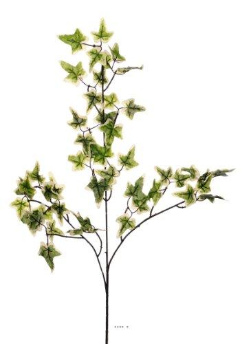 Artif-deco - Lierre artificiel en branche h 70 cm 51 feuilles panaches - choisissez votre couleur: vert -jaune