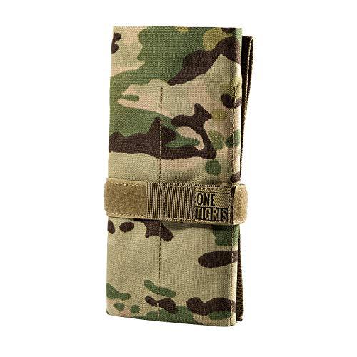 OneTigris Taktische Rolltasche Werkzeugtasche mit 12 Fächer, Cordura-Nylon Handwerkzeug und stationärer Halter |MEHRWEG Verpackung -