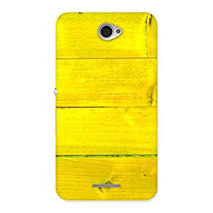 Special Yellow Backyard Back Case Cover for Sony Xperia E4