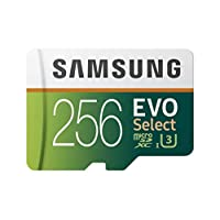 ‏‪Samsung MB-ME32GA/AM 32جيغابايت MicroSDHC EVO Select بطاقة ذاكرة مع محول Card and Adapter Only 256 GB‬‏