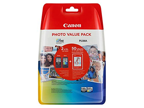 Canon PG-540XL + CL-541 XL 2 PACK Inkjet / getto d'inchiostro Cartuccia originale