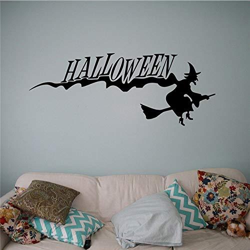 Halloween Wandaufkleber Halloween Party Vinyl Aufkleber Holiday Home Interior Removable Murals Haushaltswaren Wandgrafiken