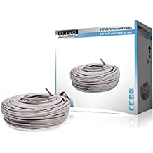 König CMP-FTP6R305S - Cable de red FTP en rollo (cat. 6, 305m), color gris