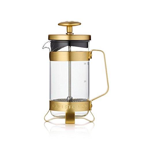 Barista & Co für 3Tassen Kaffeemaschine, Edelstahl, Midnight Gold, 11,5x 8,5x 11,5cm