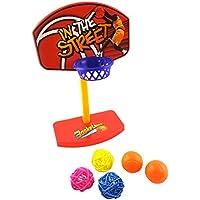 Ueetek Birdie basketball Bird Toy mini basketball Hoop set giocattolo educativo Developmental giocattolo da mordere con palline per uccello pappagallo ara