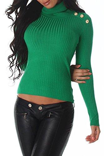 Voyelles - Pull - Femme Light Green