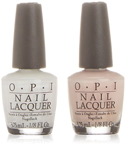 OPI Smalto per Unghie Mini Kit, All Stars, Alpine Snow & Bubble Bath, 2 x 3.75 ml