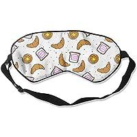 Croissant Bread Sleep Eyes Masks - Comfortable Sleeping Mask Eye Cover For Travelling Night Noon Nap Mediation... preisvergleich bei billige-tabletten.eu