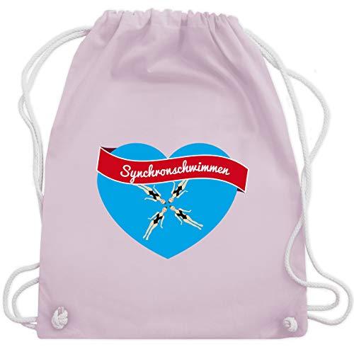 Wassersport - Synchronschwimmen - Unisize - Pastell Rosa - WM110 - Turnbeutel & Gym Bag