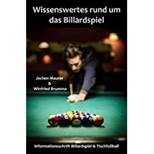 Wissenswertes rund um das Billardspiel: Informationsschrift Billard und Tischfußball