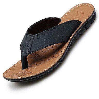 Scarpe da uomo in pelle Nappa Outdoor / Casual Outdoor / Casual Sandali Sport Tallone piano Vuoto-ou sandali US8.5-9 / EU41 / UK7.5-8 / CN42