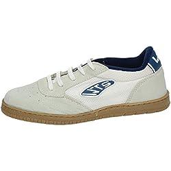 WHETIS 256BCO4 Zapatillas Futsal Hombre Calzado Trabajo Blanco 41