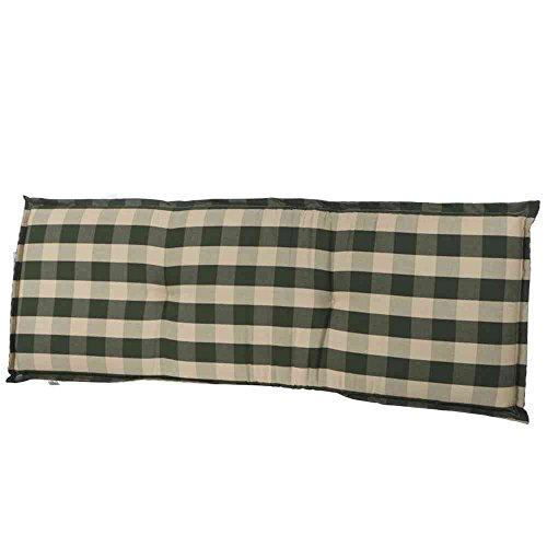 Siena Garden 336840 Kent Coussin pour banc Vert 140 x 47 x 8 cm