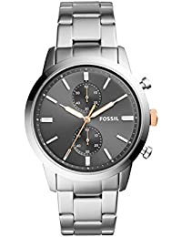 Fossil 44mm Townsman Analog Grey Dial Men's Watch - FS5407