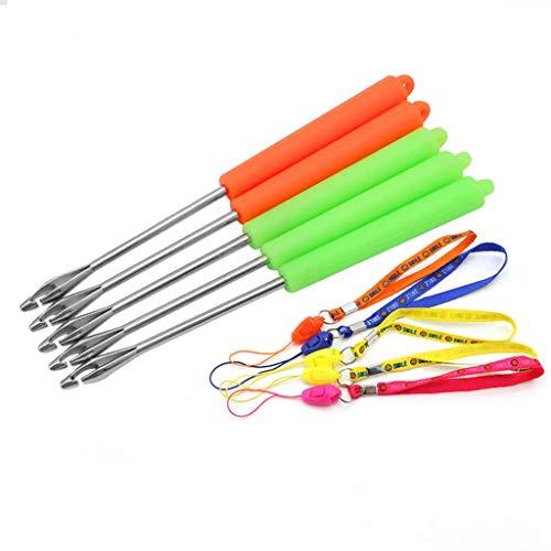 Lergo 1 Stück Tragbarer Angelhaken Entferner Entferner Entferner Werkzeug mit Gurt (Farbe zufällig)