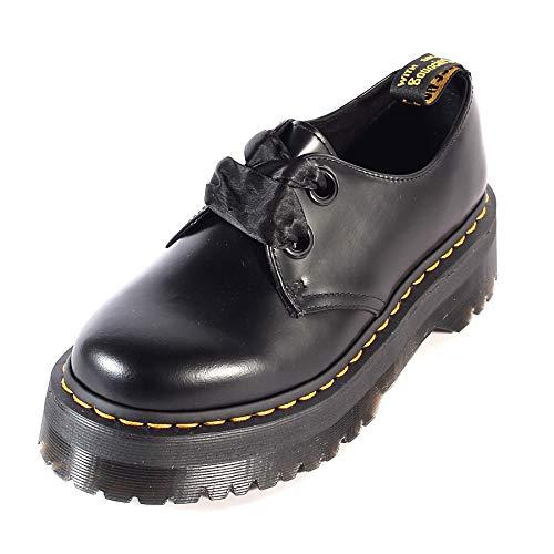 Holly Leder (Dr.Martens Damen Holly Leder Black Schuhe 39 EU)