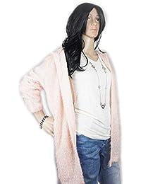 Cardigan Damen Long Sleeve Style Winter Coat Strickjacke Mantel Tunika  Hoodie Kapuze 7497b90f56