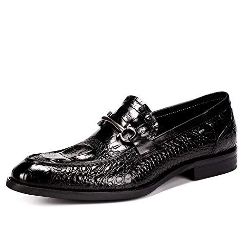 d Schuhe, Leder Herrenschuhe Krokodil Muster Jugend Flut Herren Schuhe Business Schuhe,A,43 ()