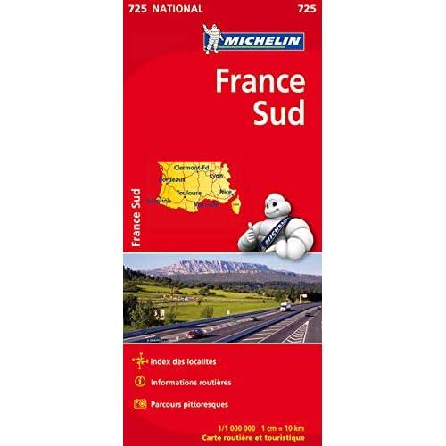 Carte France Sud Michelin