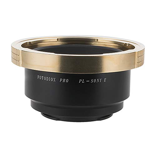 Fotodiox Pro Lens Mount Adapter, Arri PL Lens to Sony NEX E-mount Mirrorless Camera e.g. Sony Alpha a7, a7II, NEX-7 & NEX-5 Fit-mount