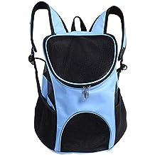 Fdit Bolsa de Hombro Portátil para Mascotas Mochila de Mascotas Transpirable Portador de Viajes Aire Libre