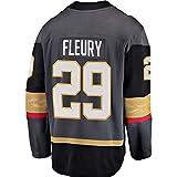 HEMWY Herren/Damen/Jugend_Marc-Andre_Fleury_#29_Schwarz_Sportbekleidung_Ausbildung_Eishockey_Jersey S-XXXL