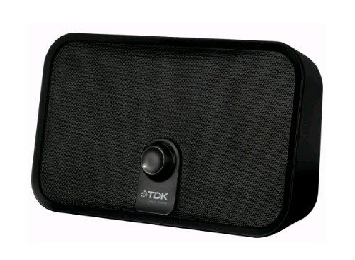 TDK TW550 HomeGo Bluetooth 2.0 Stereo-Lautsprecher mit Mikrofon (3,5mm Klinkenstecker, USB) schwarz