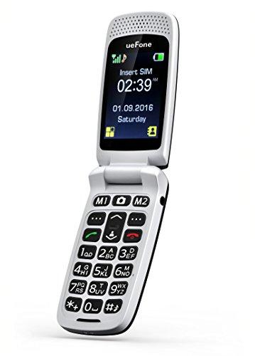ueFone Telefono Cellulare per anziani Nero