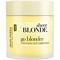 John Frieda Sheer Blonde Maschera Schiarenti Pero Capelli Biondi, Unisex - 250 ml