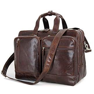 41XFLMk%2BfIL. SS324  - Bolso de cuero para hombres, bolso de negocios, 17 pulgadas, portátil, hombre, bolso oficial, gran capacidad