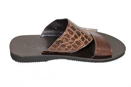 Claquettes sandales baldinini chaussures shoe 6681 Marron - Marron