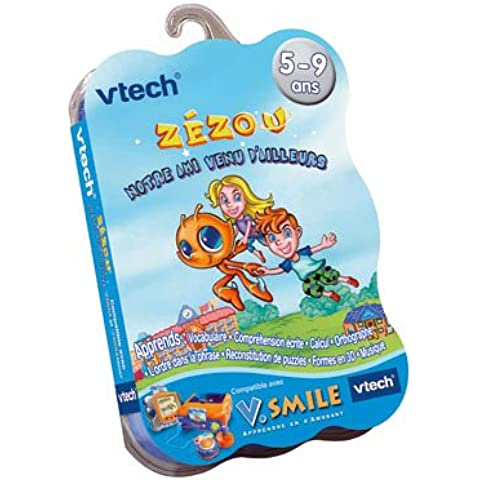 VTech V.Smile - Libro con juegos, Zezou El extraterrestre (92365) (versión en francés)