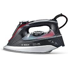 Bosch TDI903239A - Plancha de inyección (de vapor), 3200 W, color negro y rojo