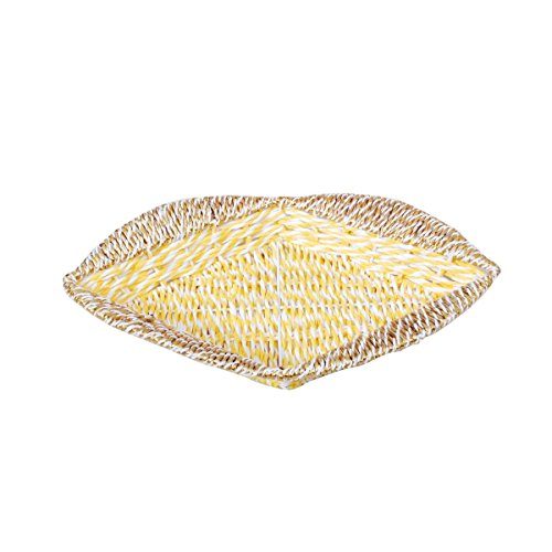 Paper & Plastic Rectangular Shaped Small Basket by Triveni