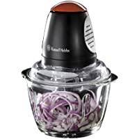 Russell Hobbs Desire Mini Chopper 1 L Bowl with 500 ml Food Capacity, 380 W 18558 - Black