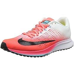 Nike Wmns Air Zoom Elite 9, Zapatillas de Running para Mujer, Rojo (Hot Punch/White/Lava Glow/Black), 38.5 EU