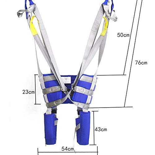 41XFPH5rYEL - ZIHAOH Cabestrillo De Elevación De Paciente De Cuerpo Completo, Cinturón De Transferencia Médica De Elevación para Personas Mayores Discapacitados, Cinturón para Caminar Asistido por El Paciente