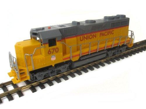 NewRay Diesellok Schiebelok Union Pacific der Spur G mit LGB kompatibler Kupplung zum Selbsteinbau (Union Motor Pacific)