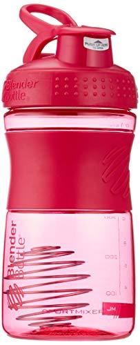 BlenderBottle Sportmixer Tritan Protein + Fitness Shaker mit BlenderBall ,Rosa (Pink Fashion), 20oz / 590ml