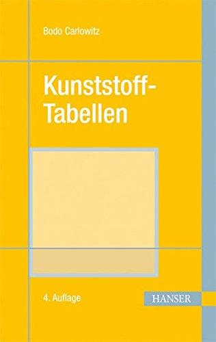 Kunststoff-Tabellen (Print-on-Demand)