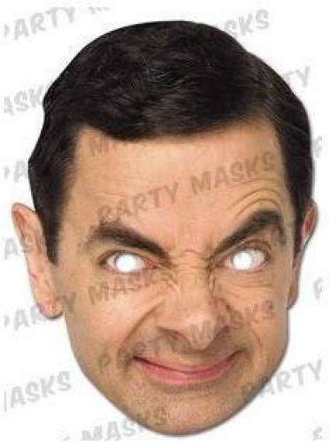 Celebrity Face Party Maske Fancy Dress Hen Geburtstag Masken Fun Hirsch Do Night Mr Bean